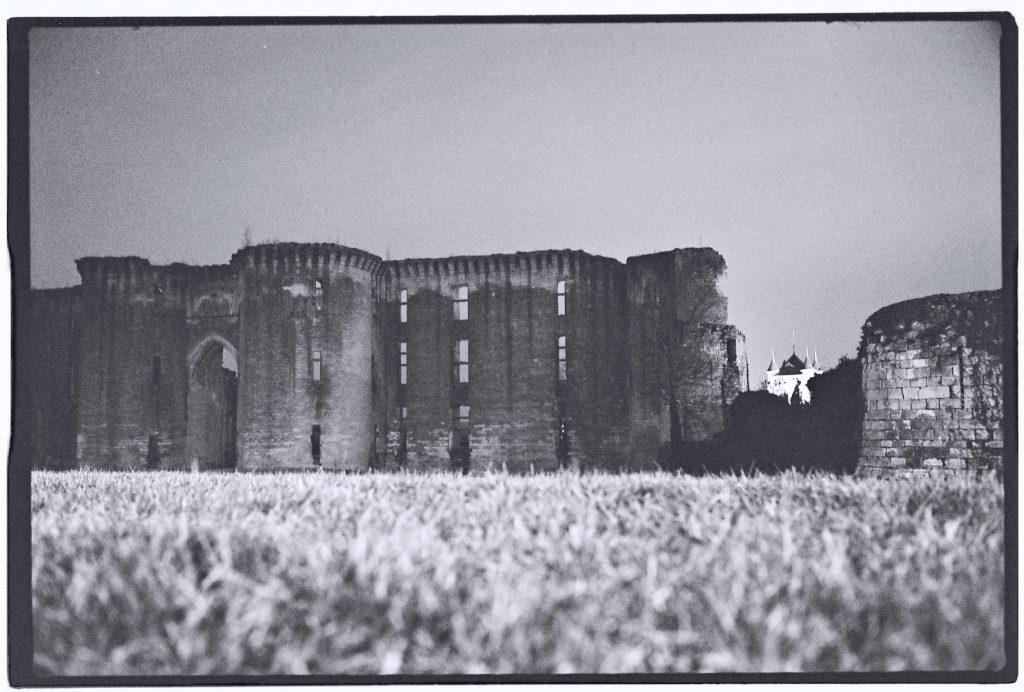 Un château en ruine à la Ferté Milon