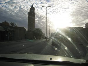 Dans les rues de Gabès en Tunisie