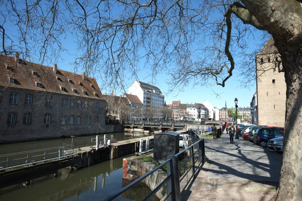 L'Ena était en fait l'ancienne prison pour femme de Strasbourg
