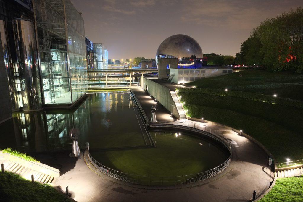 La Cité des sciences et de l'industrie, Paris 19 ème