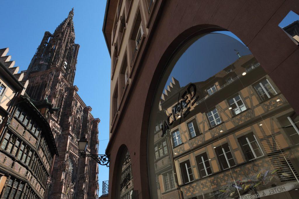 La cathédrale de Strasbourg omniprésente dans la ville