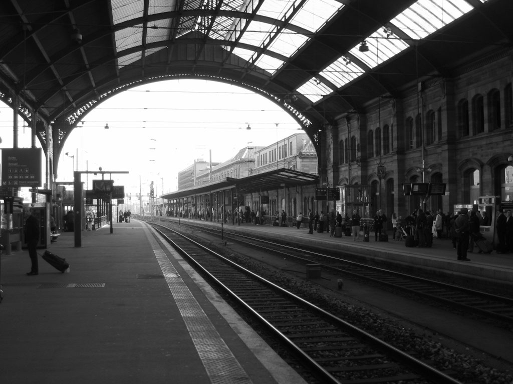 La gare de Strasbourg