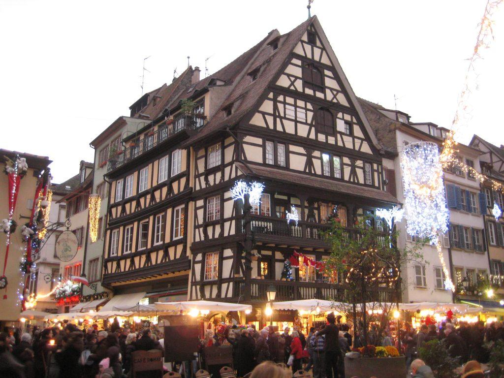 Le marché de Noêl à Strasbourg