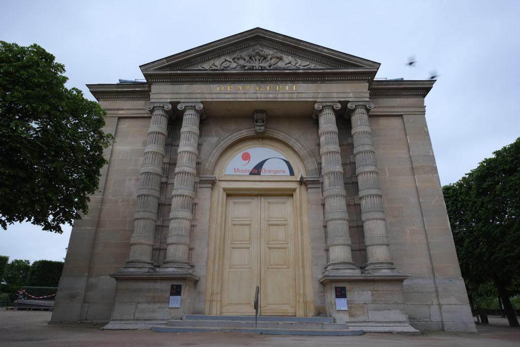 Le musée de l'Orangerie dans le Parc des Tuileries