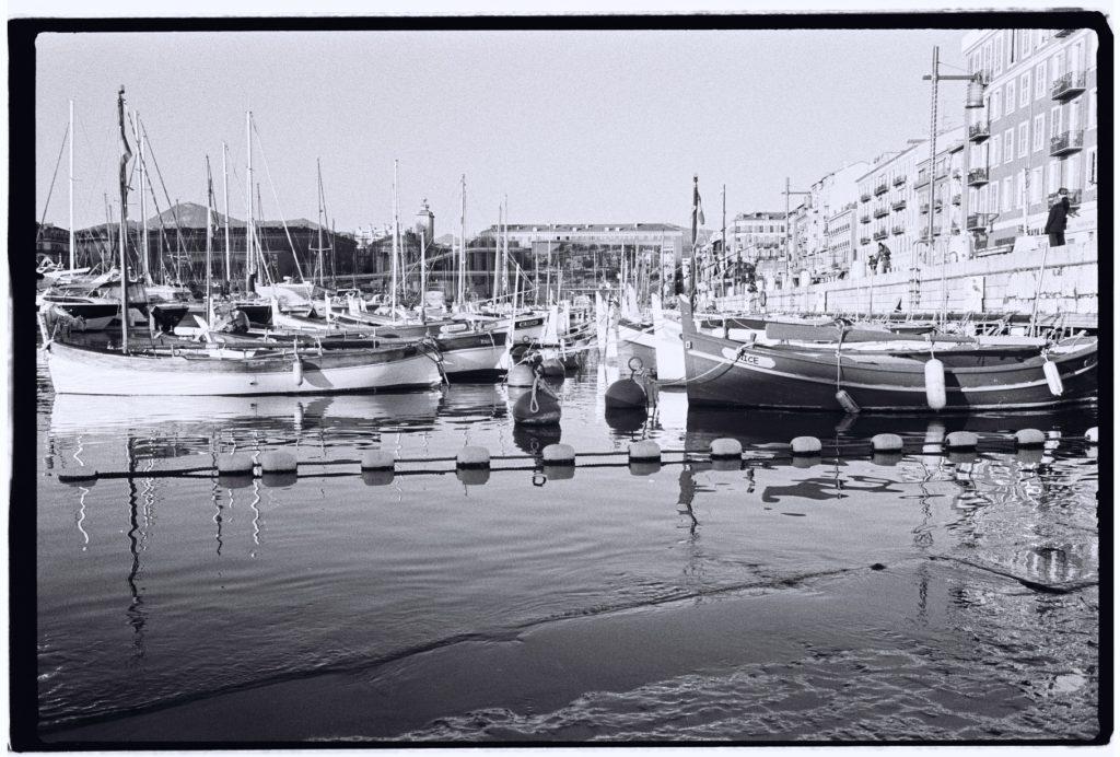 Le port de Nice et ses pointus