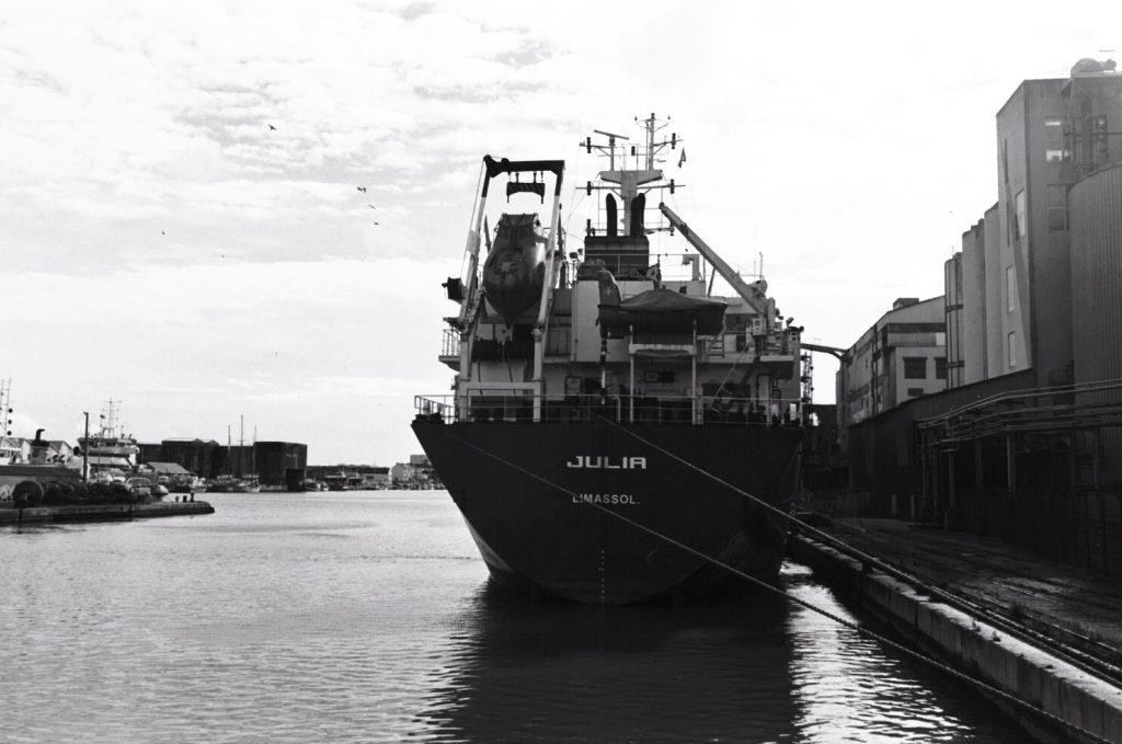 Le port de Saint-Nazaire