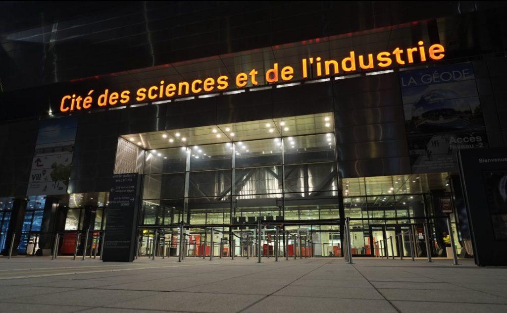 L'un des musées les plus visités de France, la Cité des sciences à la Villette