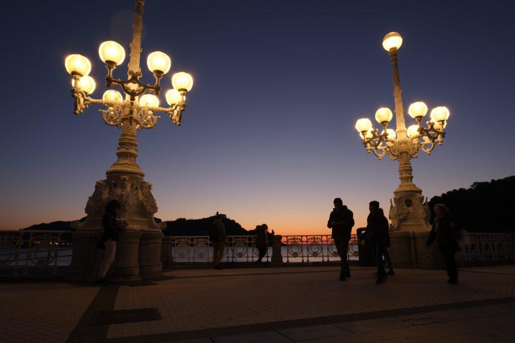 San Sebastian, la nuit je ne pense plus à rien