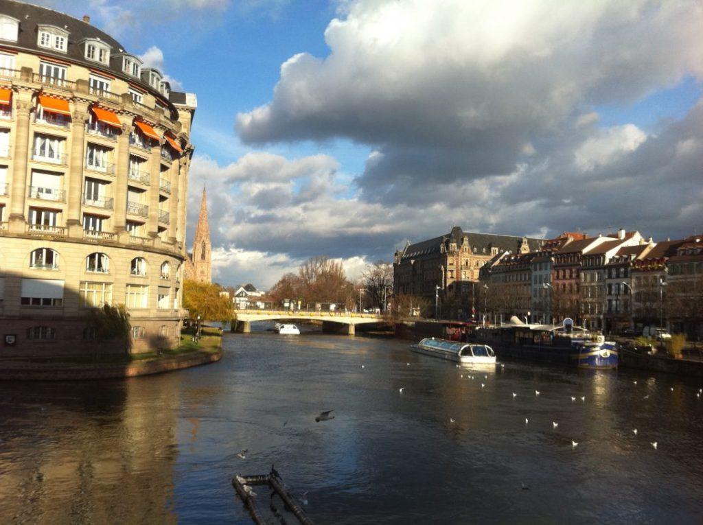 Strasbourg sous un soleil d'hiver