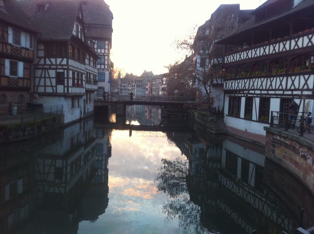 Que faire à Strasbourg, si balader en fin de journée sur la petite France