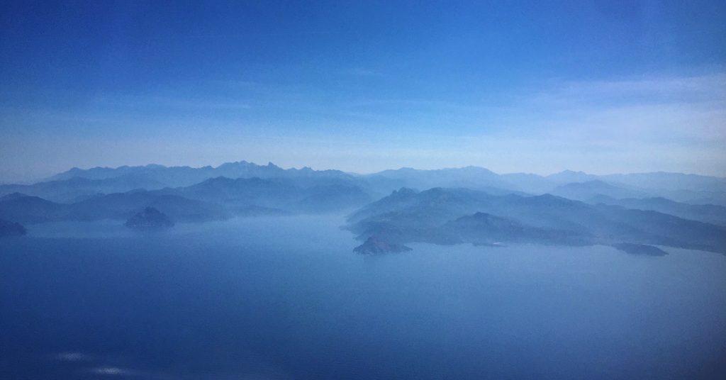 La Corse vue du Ciel, la côte ouest de la Corse