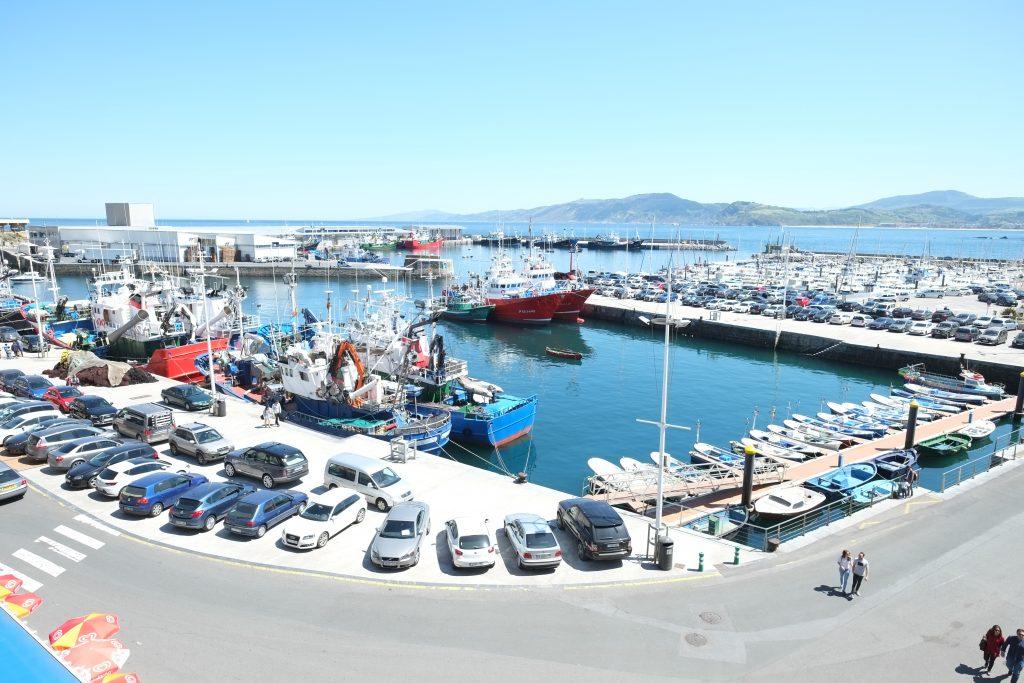 Le port de Guetaria dans le pays basque espagnol