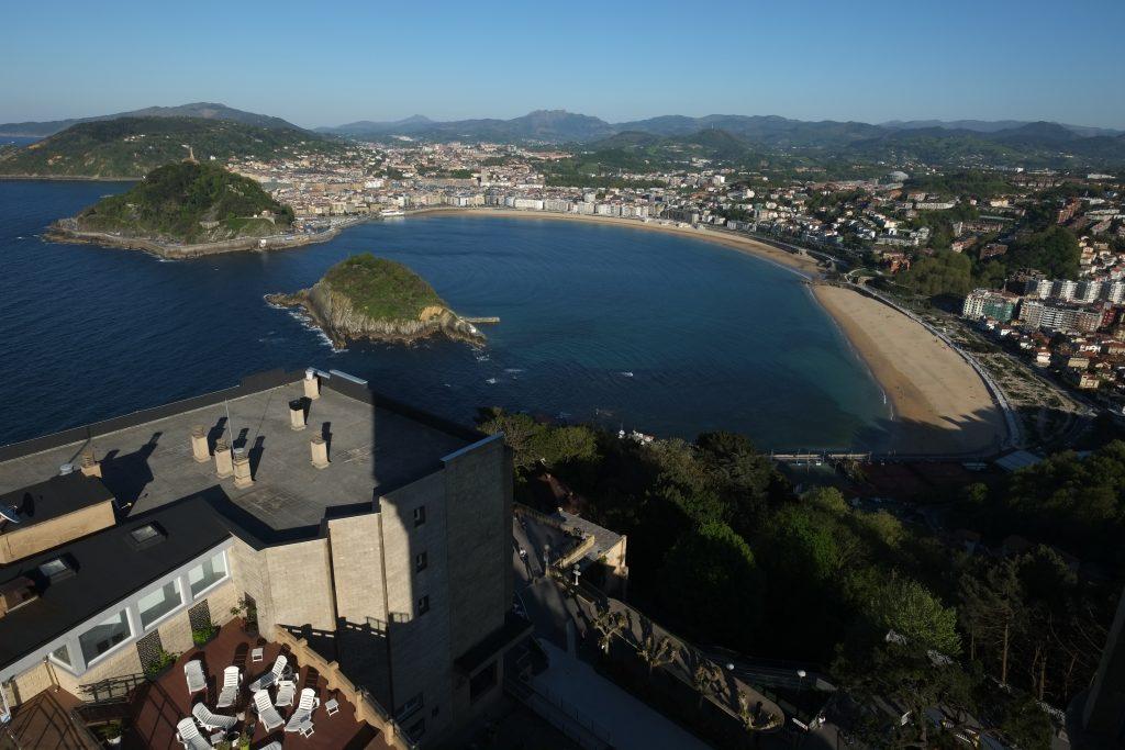 Magnifique panorama sur San Sebastian au coeur du pays basque espagnol