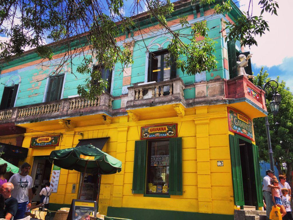 la boca, l'une des villes les plus colorées du monde