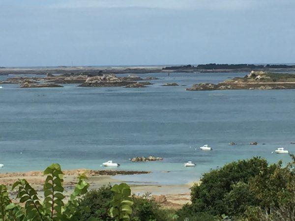 L'archipel de Bréhat sous le soleil breton