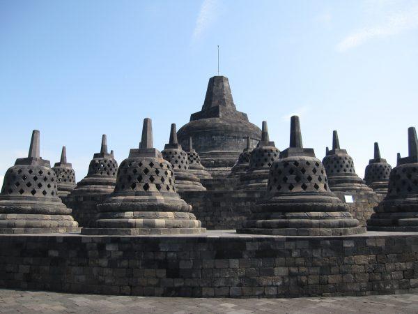 Le magnifique temple de Borobudur en Indonésie