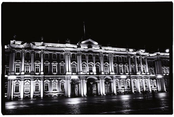 Le Palais de l'Ermitage à Saint Pétersbourg