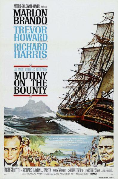 Le bateau du film les révoltés du Bounty a coulé