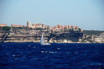 Les falaises de Bonifaccio en Corse
