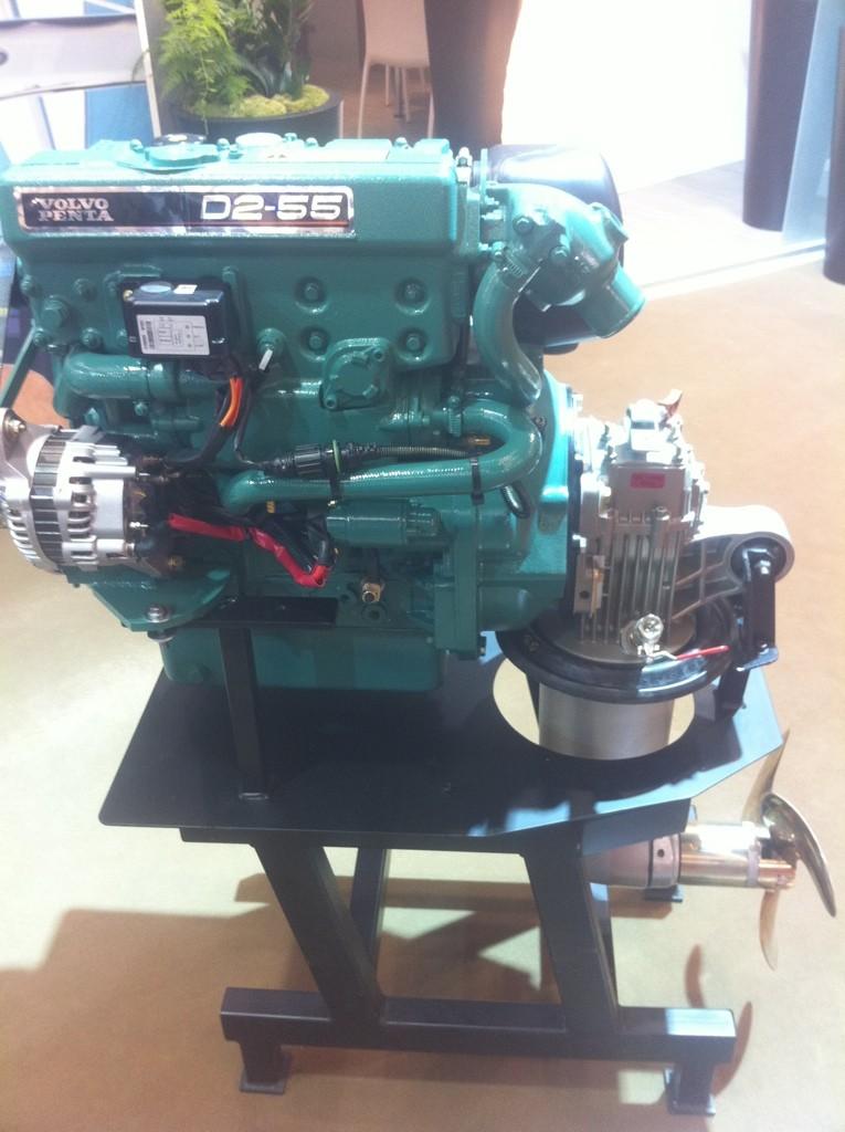 Le moteur Volvo D2-55