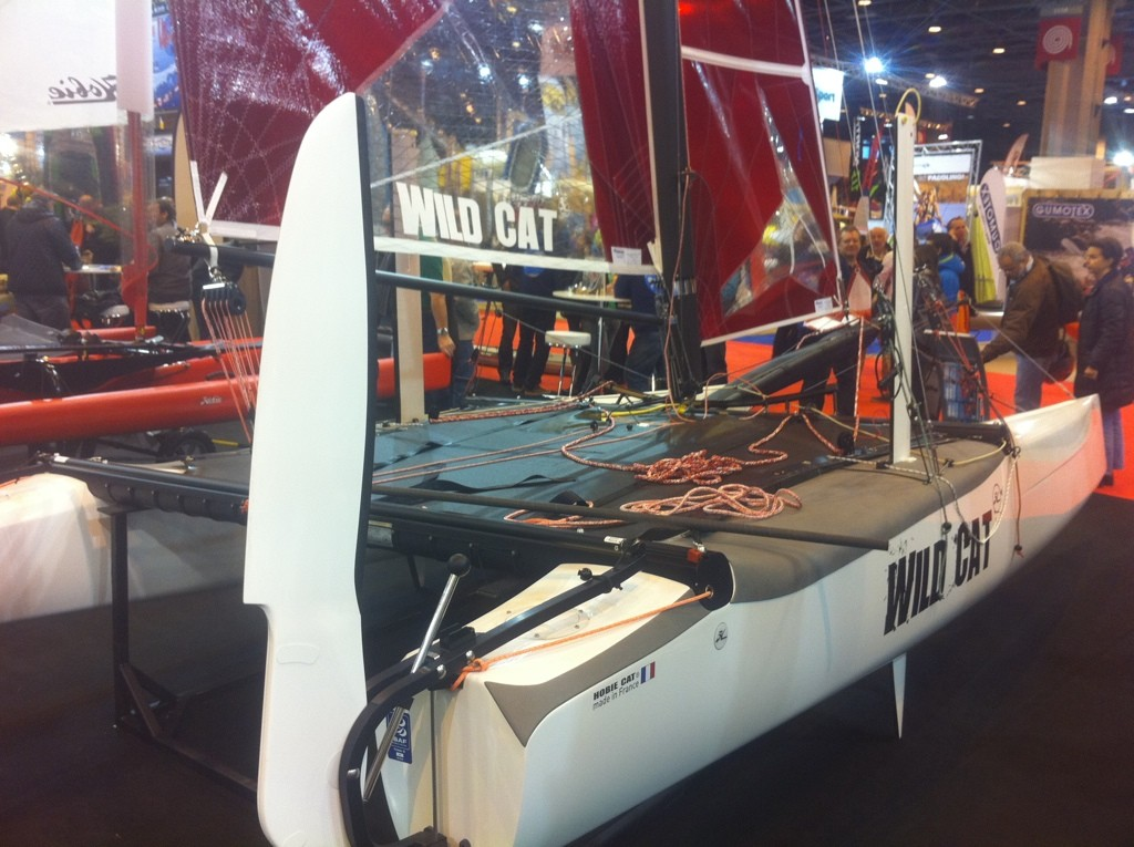 Le wild cat au salon nautique de Paris