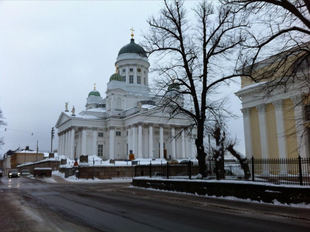 La cathédrale de Tuomiokirkko