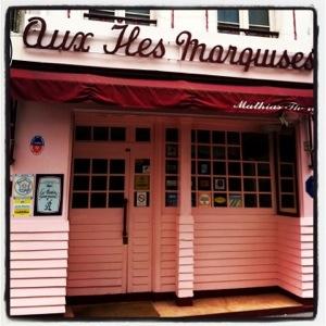 Architecture des Marquises à Paris