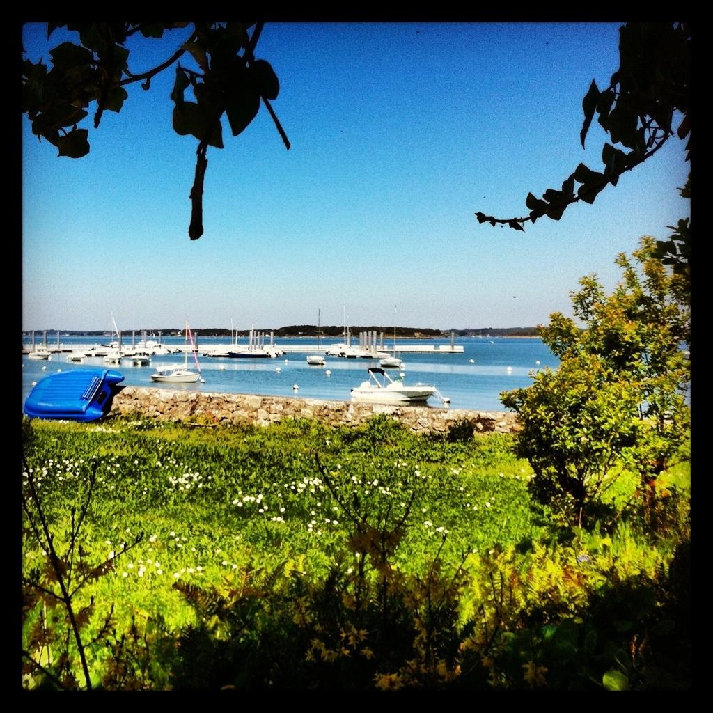 Le golfe du Morbihan sous le soleil