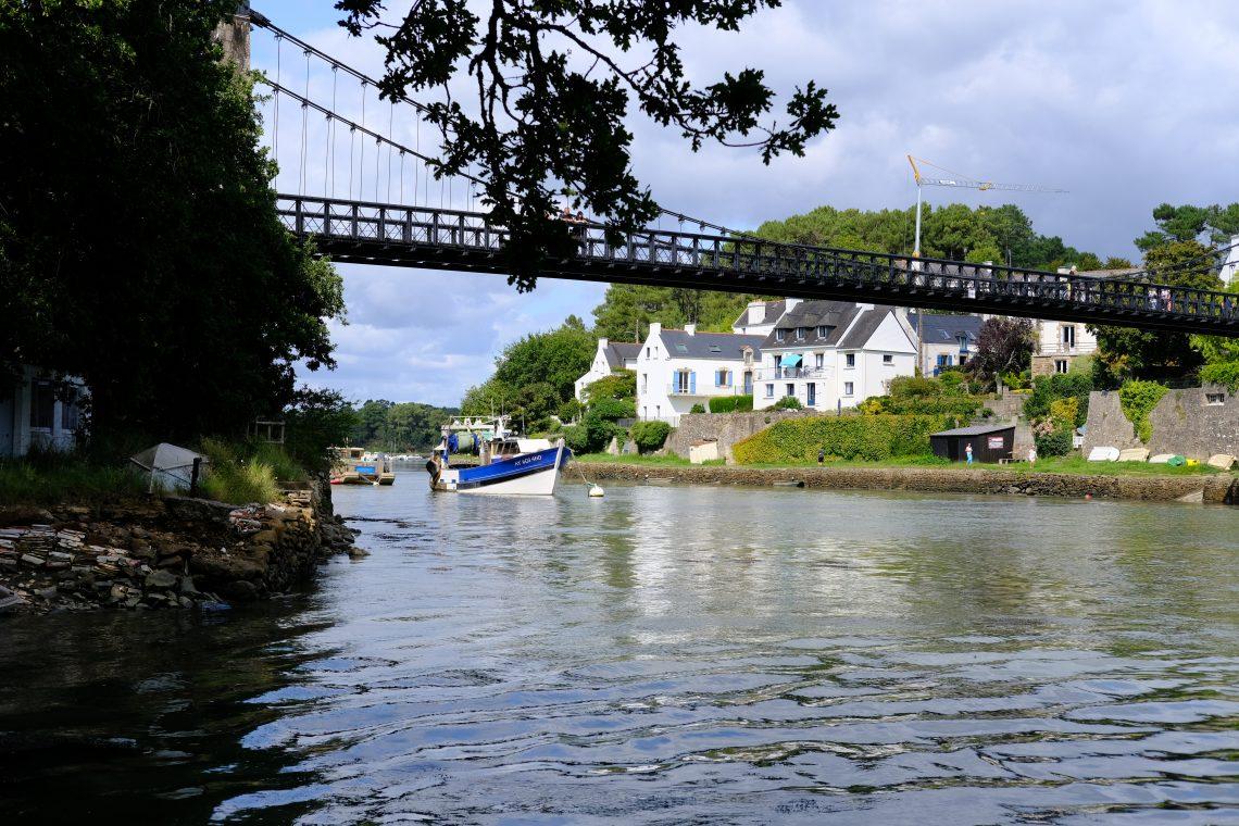 Le petit port du Bono dans le Morbihan