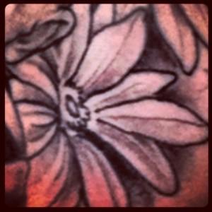 Une fleur - tatouage de marin