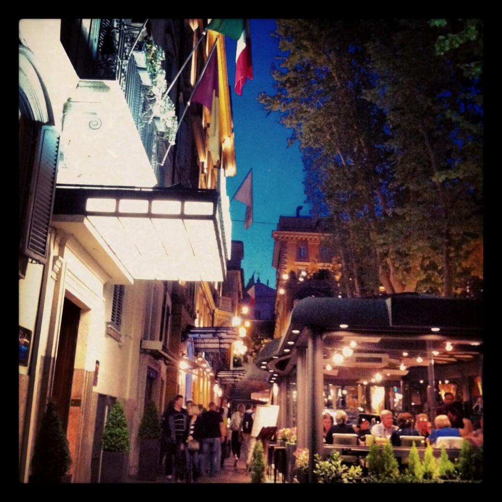La dolce vita et la douceur des soirées romaines