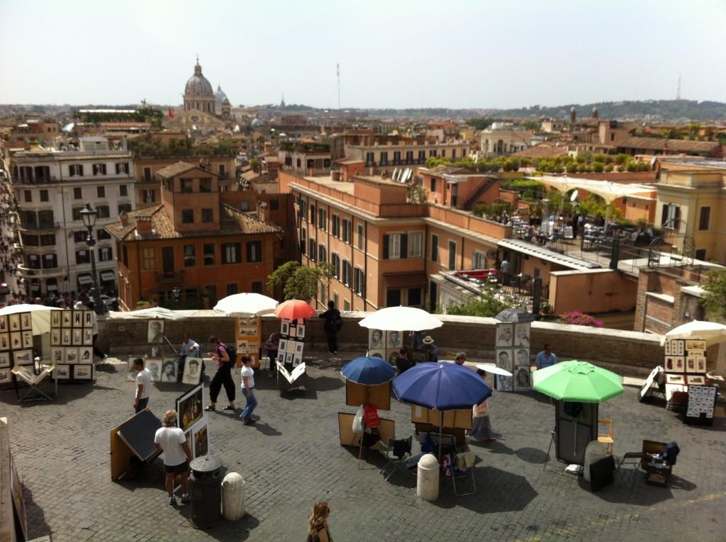 Rome au mois de mai