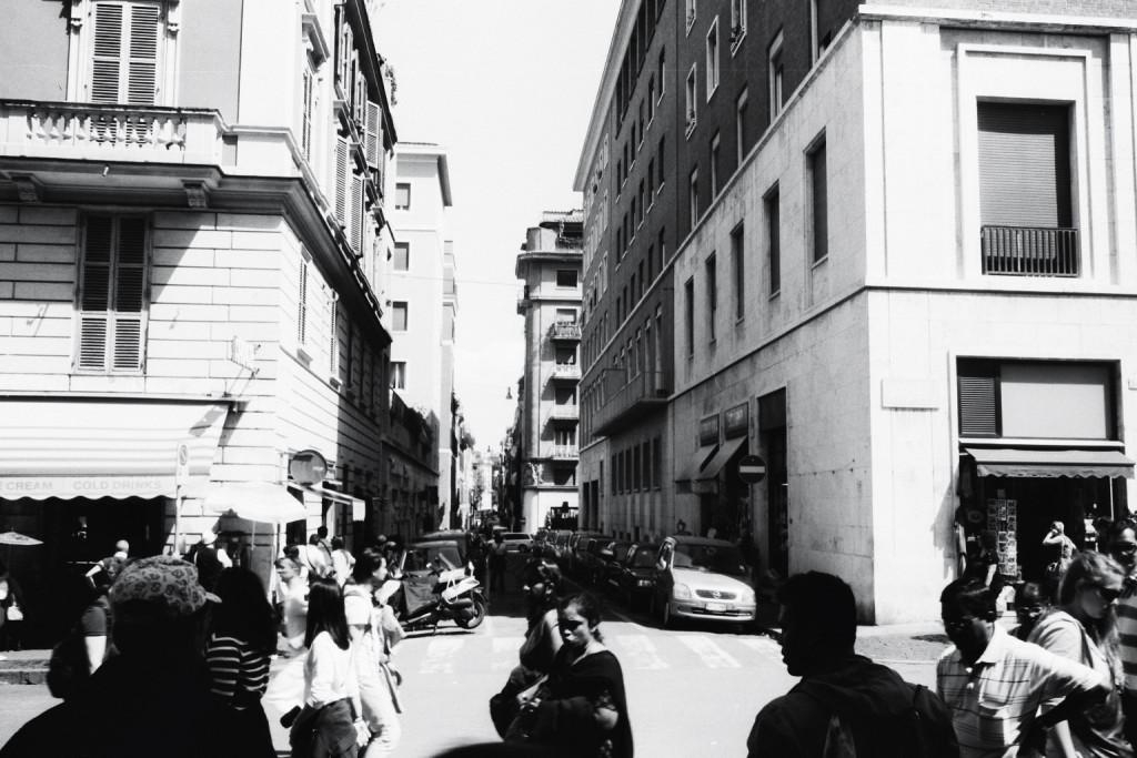 Scène de vie à Rome