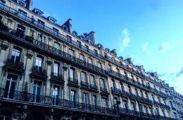 Une façade à Paris