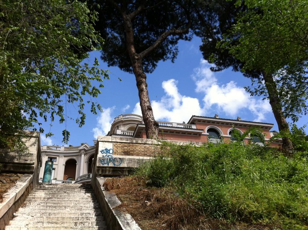 Une villa romaine qui domine la capitale