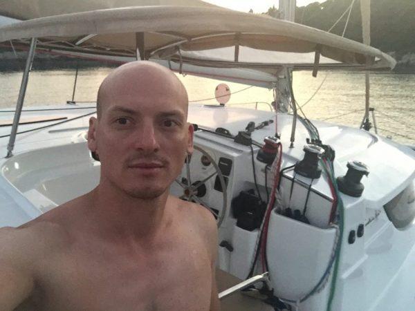 Le skipper du Lipari 41