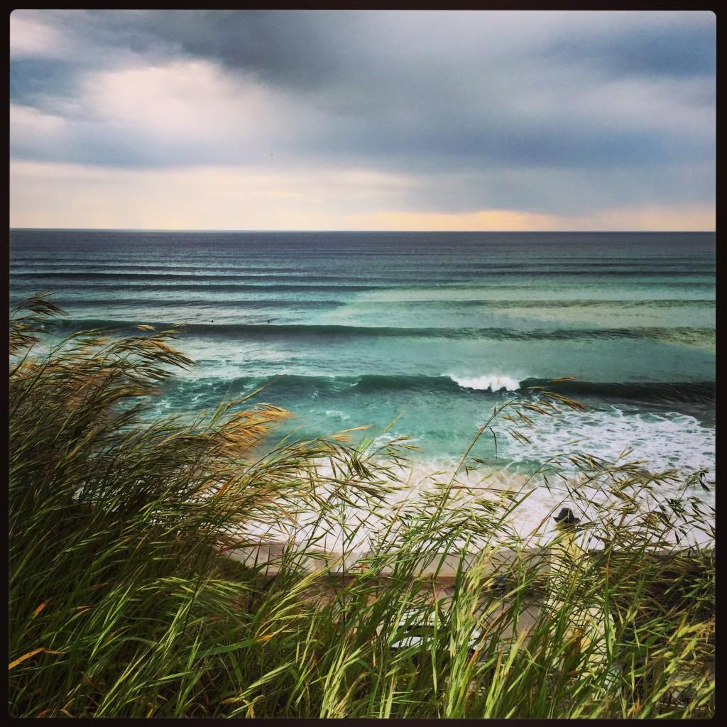 Bidart, un des hauts lieux du surf sur la côte basque