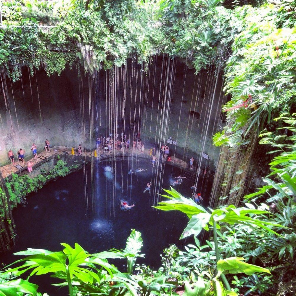 Ikil, un cenote mexicain