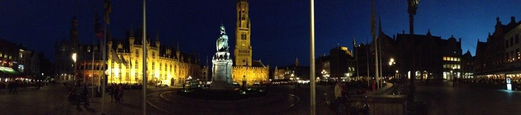 l'heure bleue à Bruges