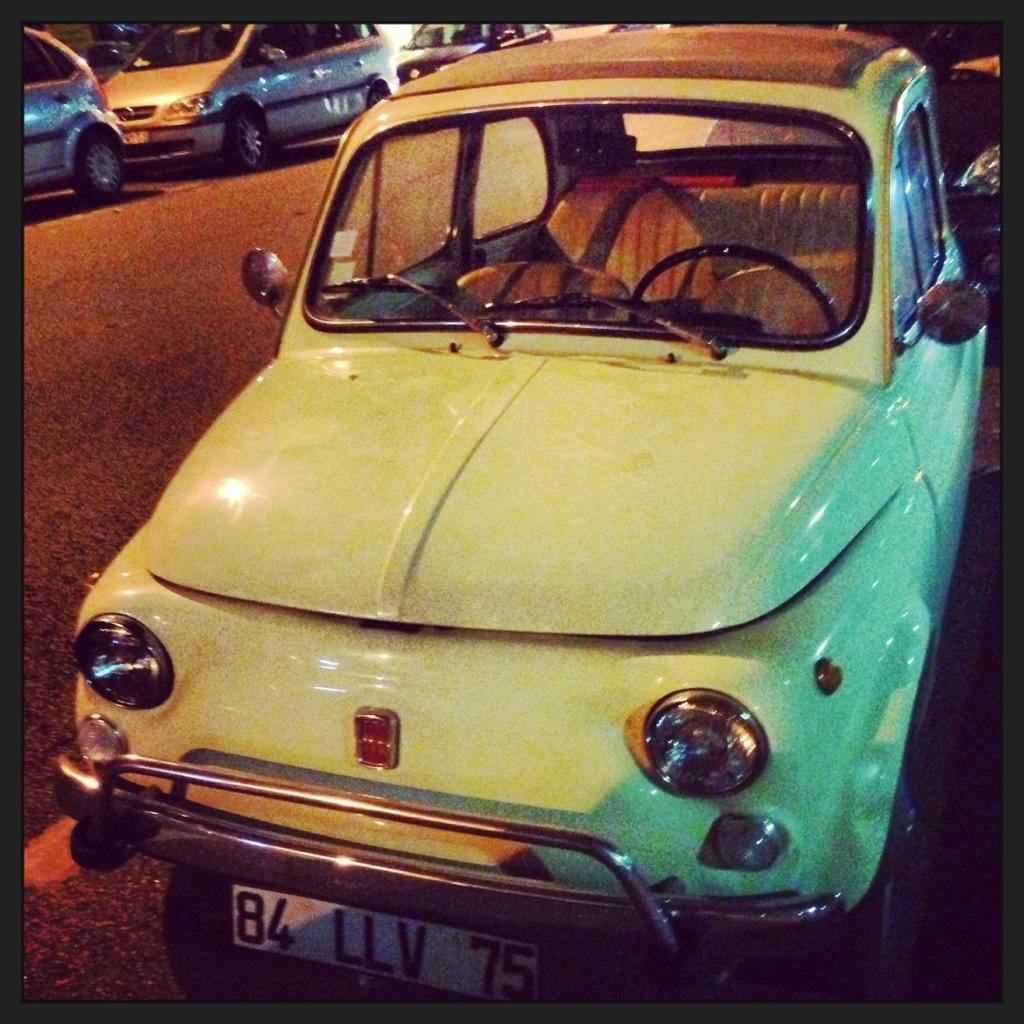 Fiat 500, retro, oldtimer