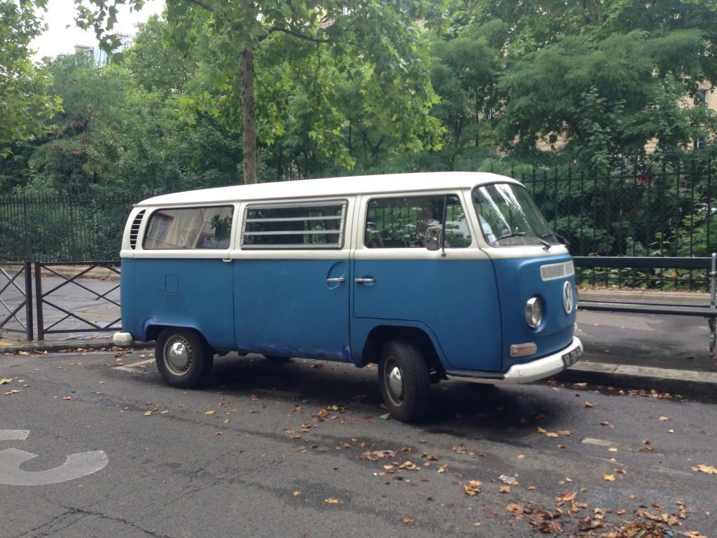 Van old school à Paris