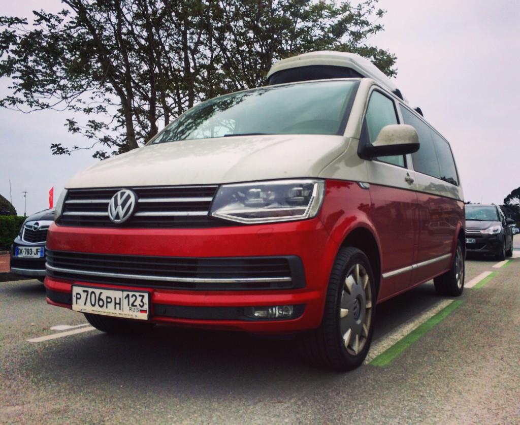 Van Volkswagen Bicolore, California version 2016