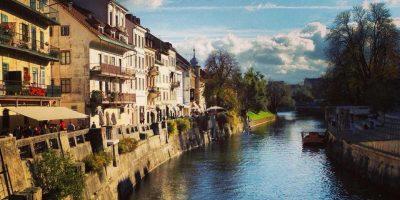 Une douce journée de septembre à Ljubljana