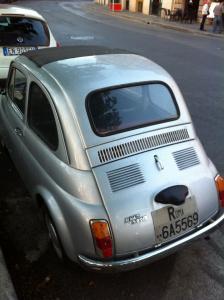 Fiat 500, Roma, Italia, Escaledenuit.com