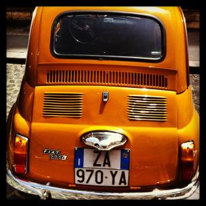 Fiat 500, Italia