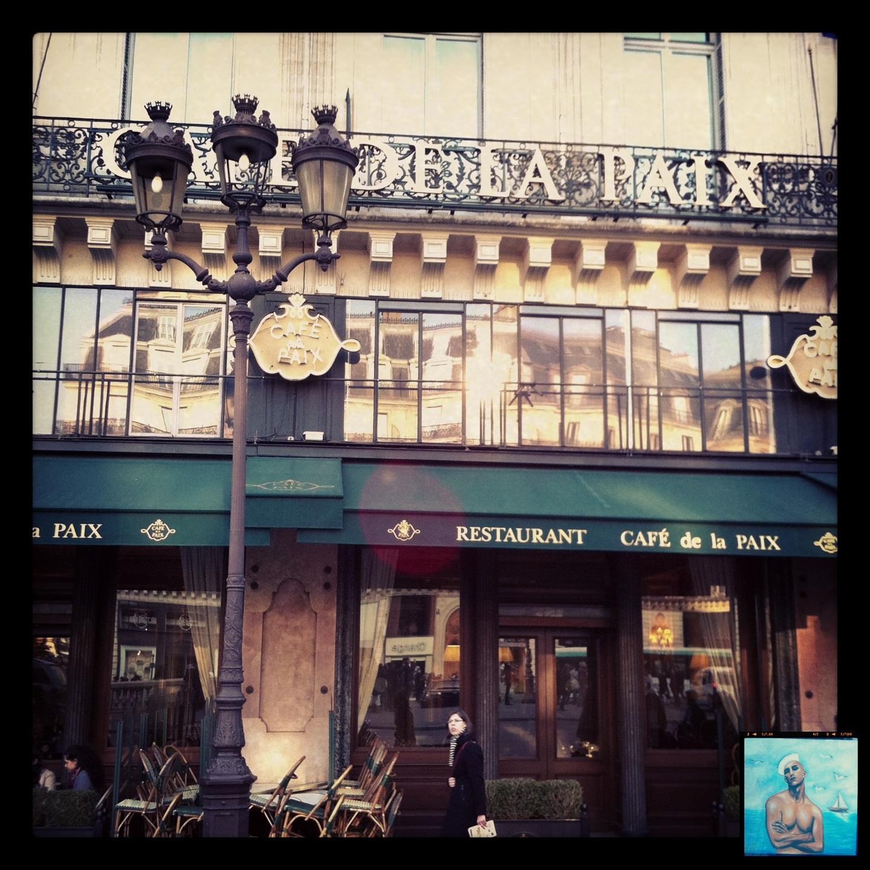 Le café de la Paix à Paris, dégustation de fruits de mer @escaledenuit