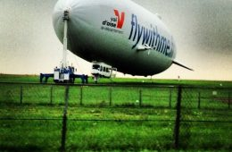 Ballon dirigeable zeppelin