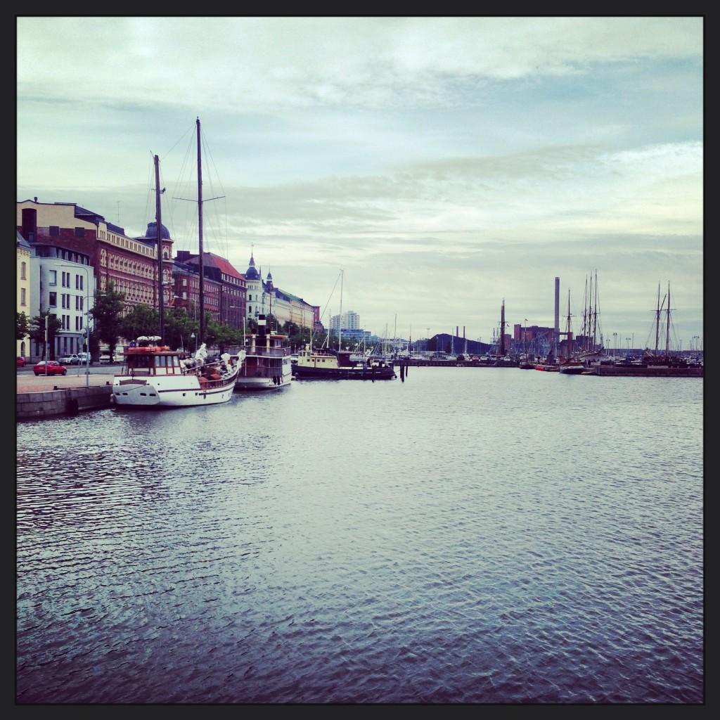 Vur sur le port d'Helsinki