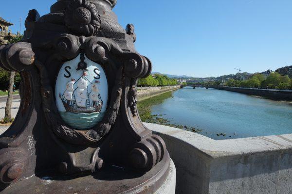 Un blason à San Sebastian Donostia