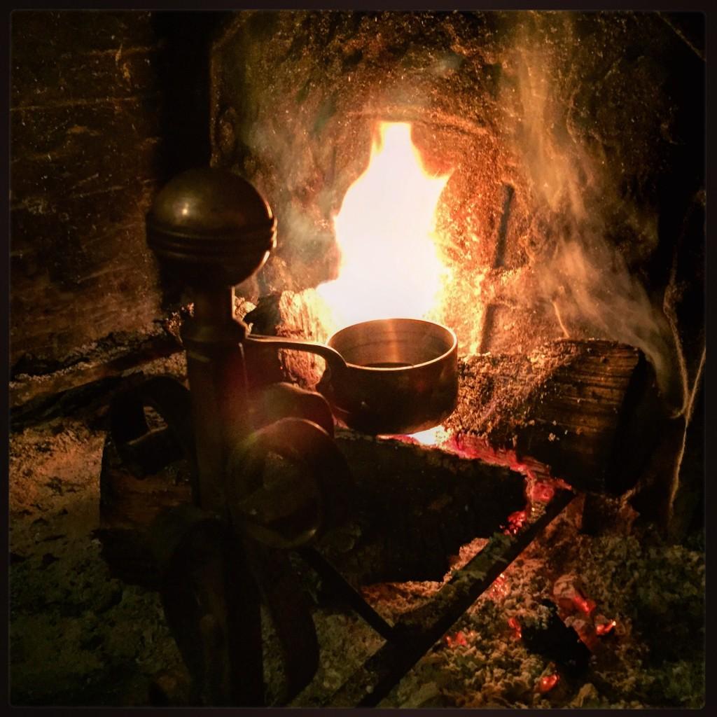 Cuisine au feu de bois, un moment inoubliable
